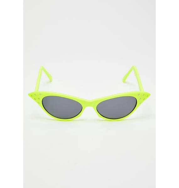 Giant Vintage BLAM! Cat Eye Sunglasses