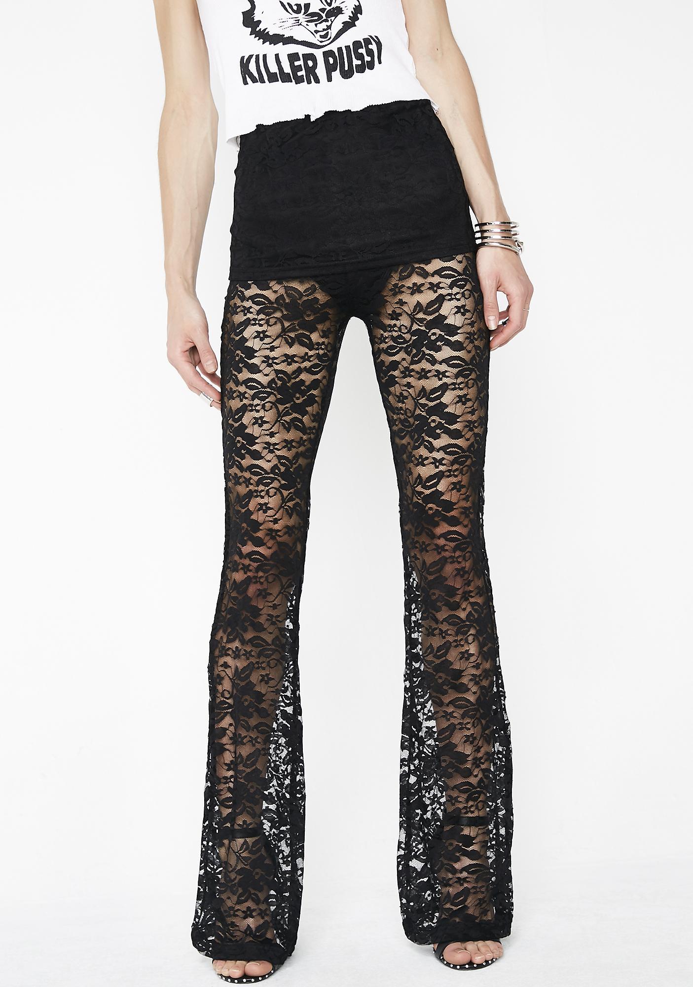 Dark Tales Lace Pants