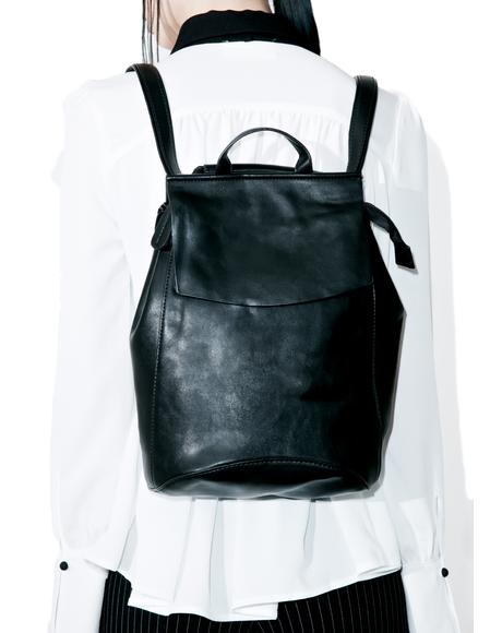 Brooke Faux Leather Backpack