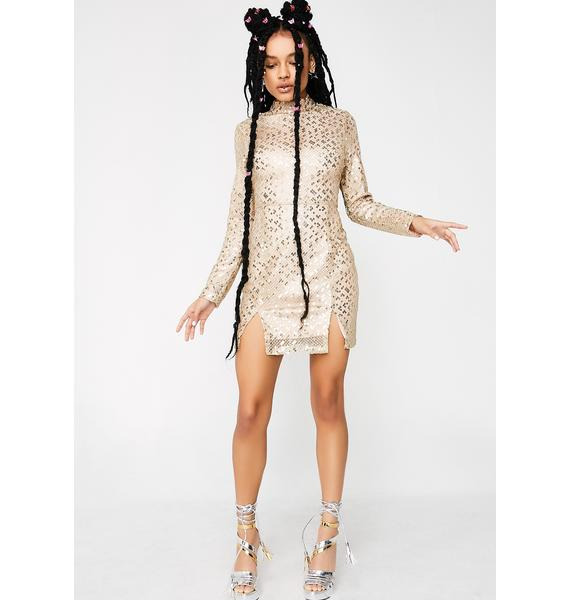 Glamorous Pop The Bubbly Sequin Dress