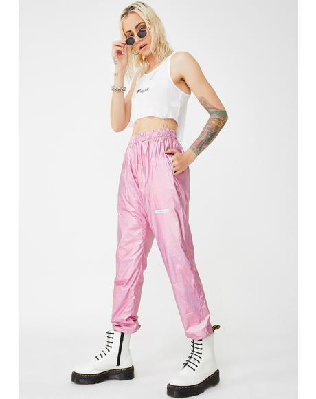 Candy Metallic Sweatpants
