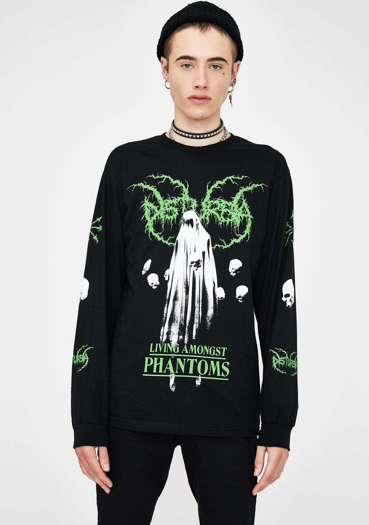 Disturbia Phantoms Graphic Long Sleeve