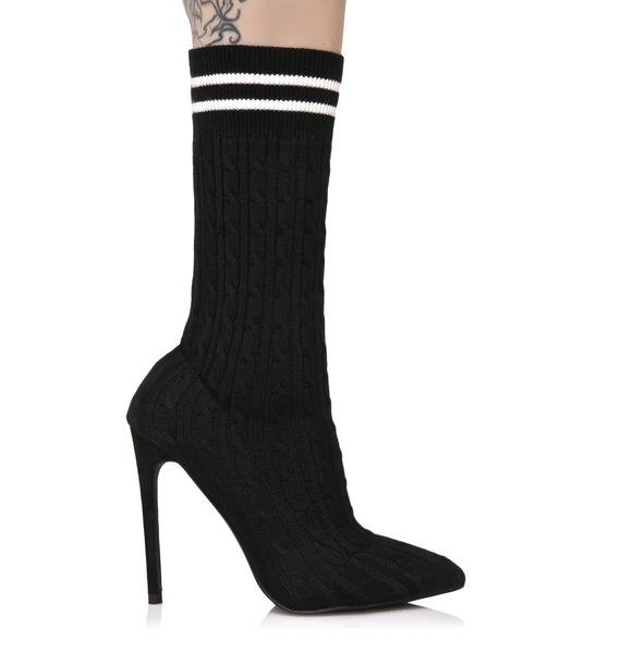 High Energy Sock Ankle Boots