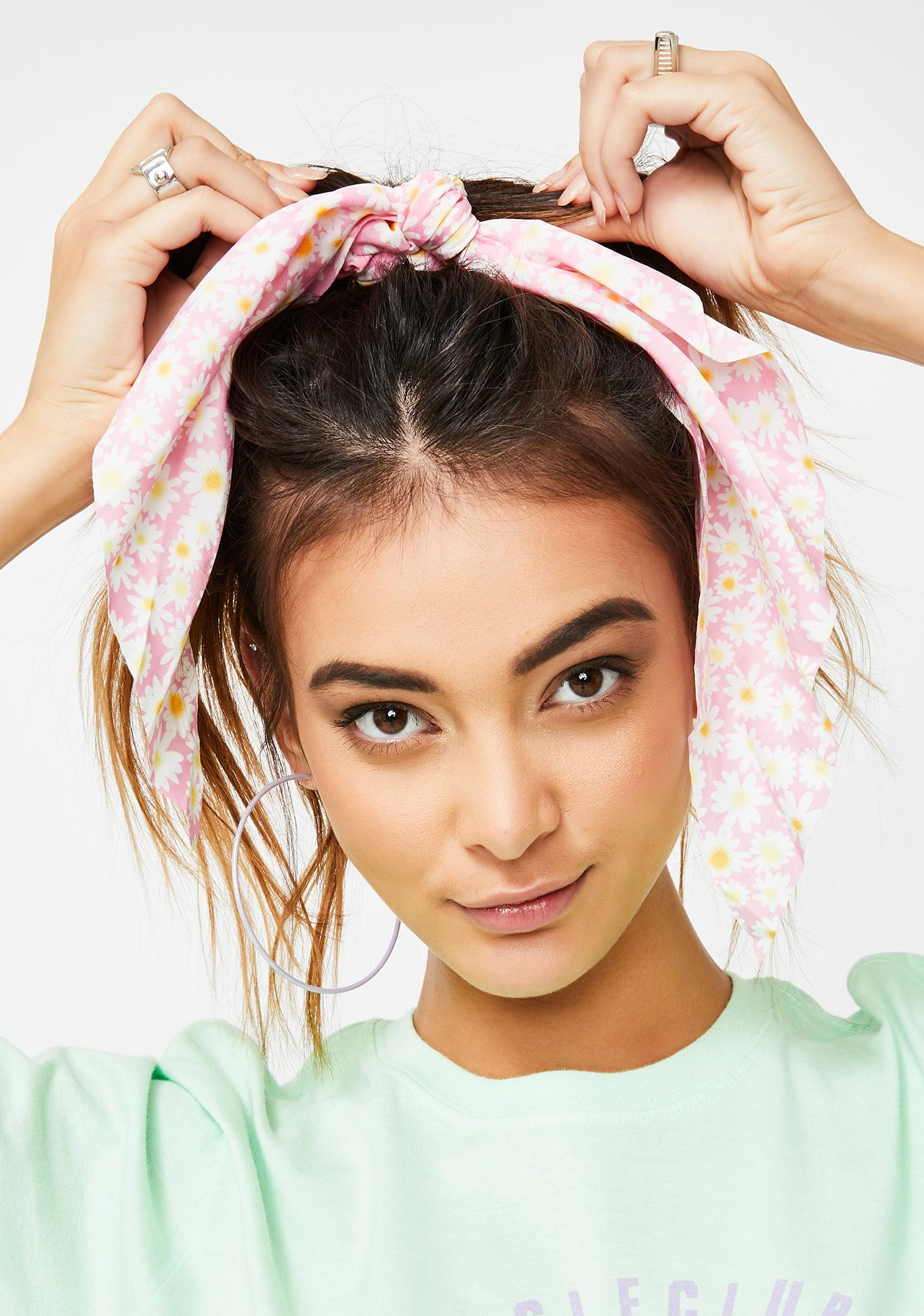 Hashtag Hottie Daisy Hair Ribbon