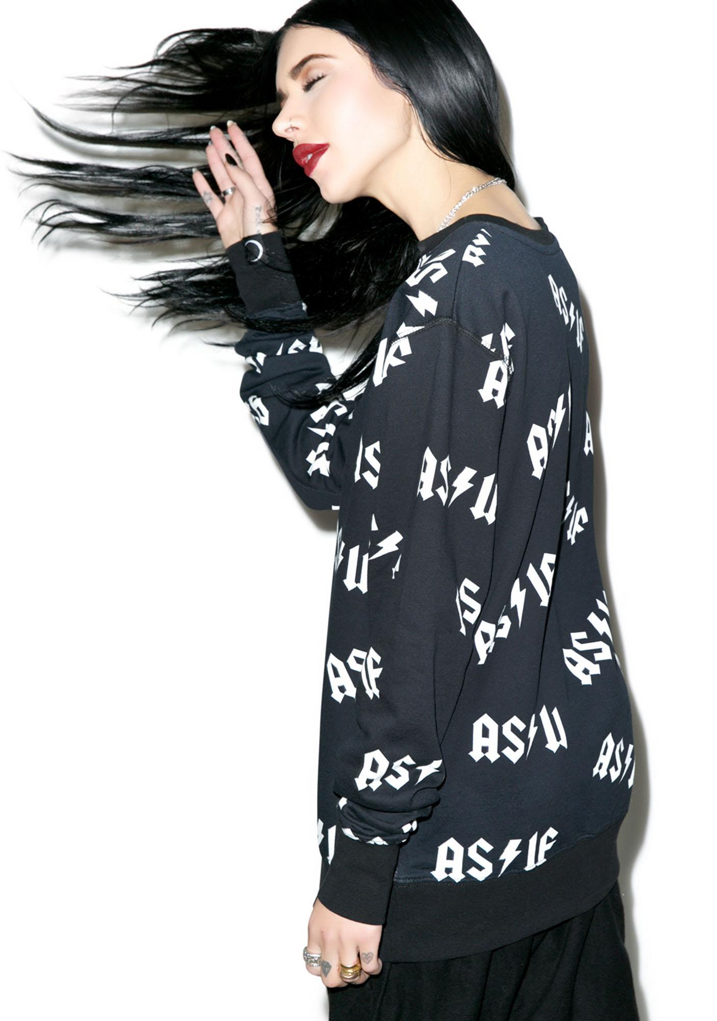 Killstar As If Sweatshirt
