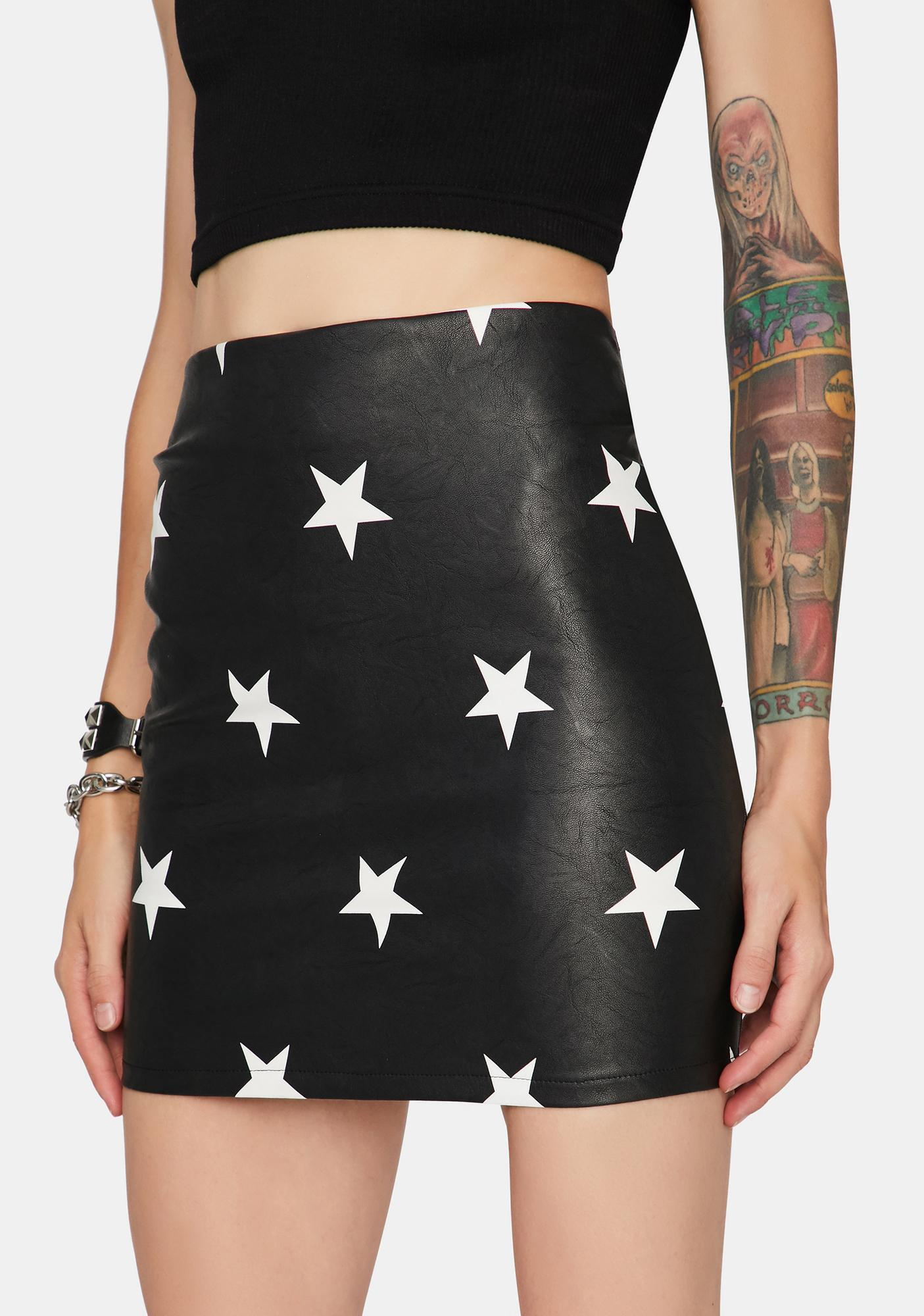 Starry Eyed Surprise Mini Skirt