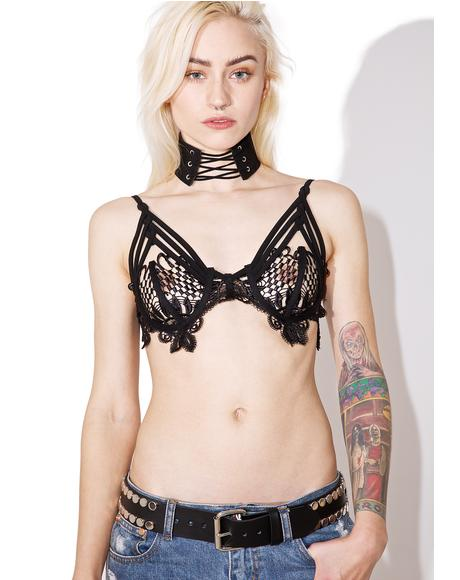 Curiosity Strappy Bra