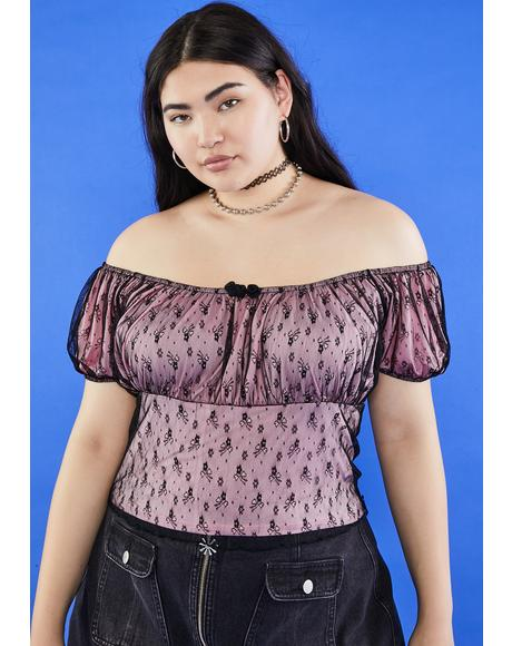 But Isn't It Ironic Mesh Top