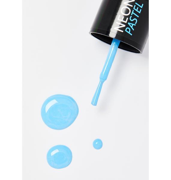 Moon Creations Pastel Blue UV Nail Polish