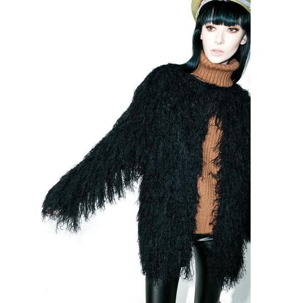 Will O' Wisp Faux Fur Coat