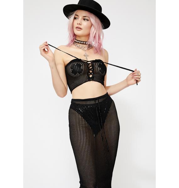 Sin My Beautiful Nightmare Knit Set