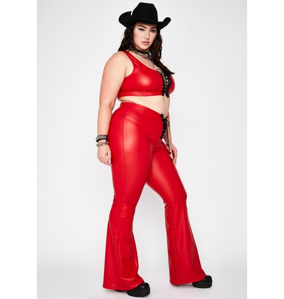 Fire Total Cowgirl Commotion Lace-Up Set
