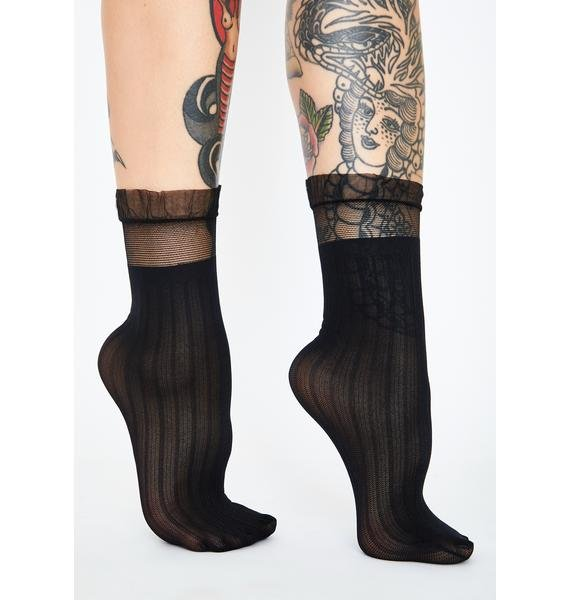 Dark Princess Moment Sheer Socks