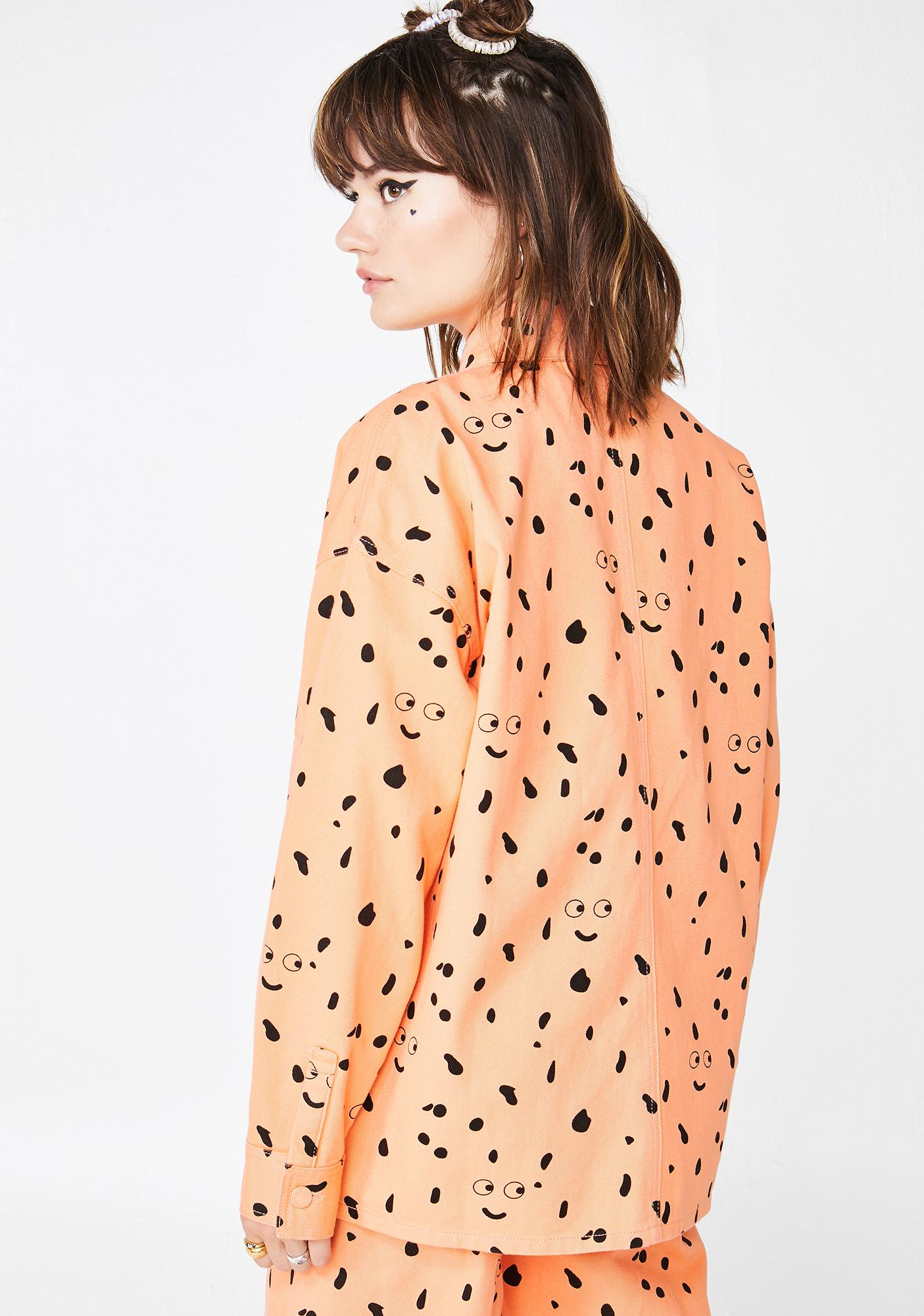 Lazy Oaf X Studio Arhoj Glazed Over Work Jacket