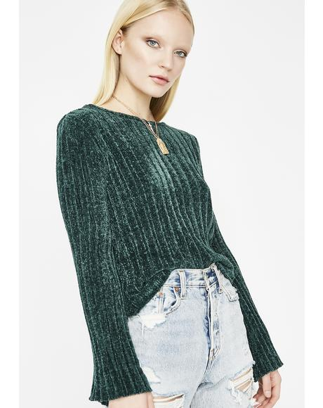 Dream Mountain Chenille Sweater