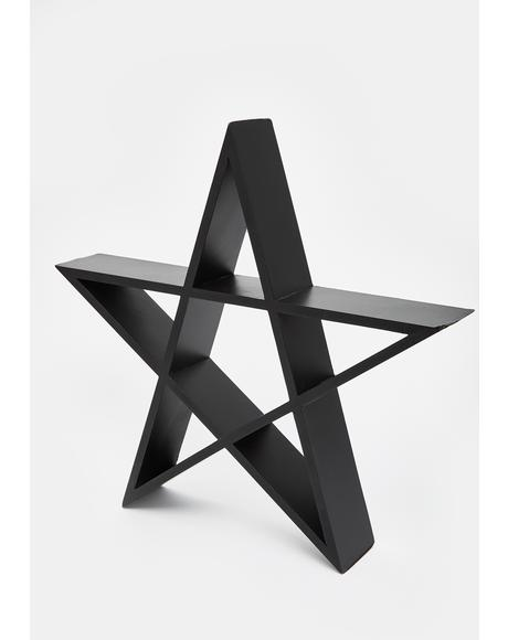 Evil Thingz Pentagram Wall Art