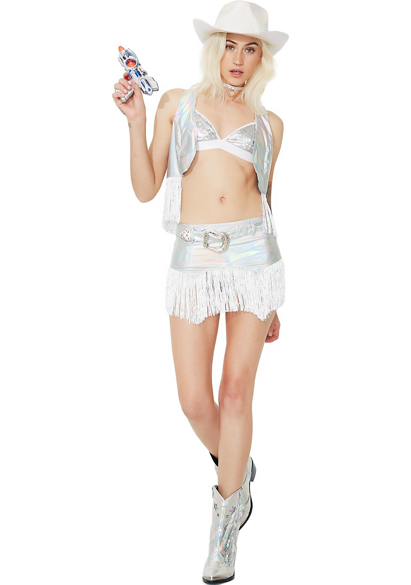 Dolls Kill Cyber Cowgirl Costume