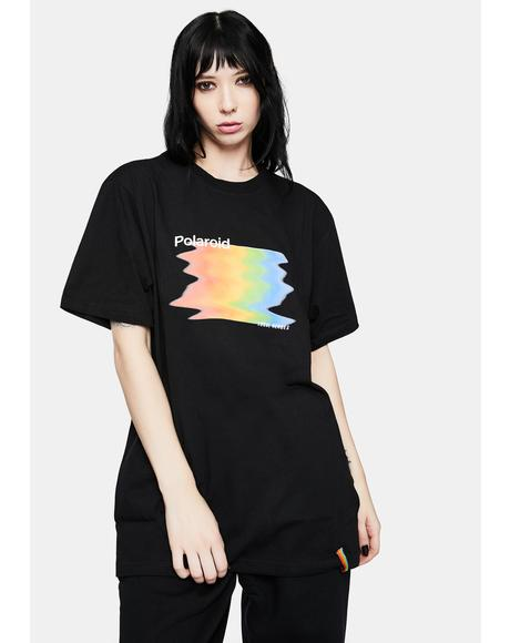 x Polaroid Glitch Graphic Tee