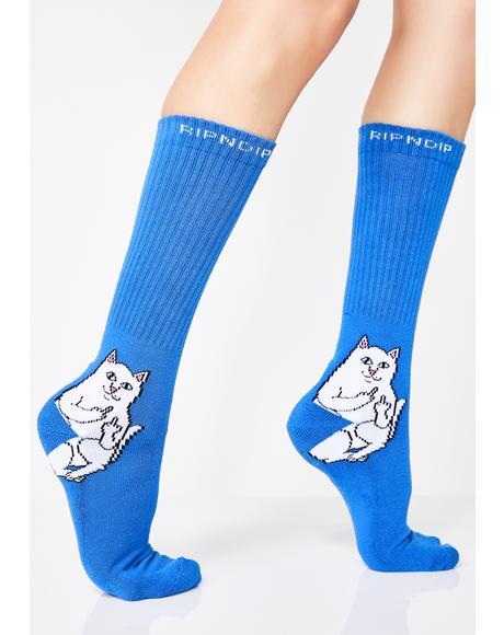 Royal Lord Nermal Socks