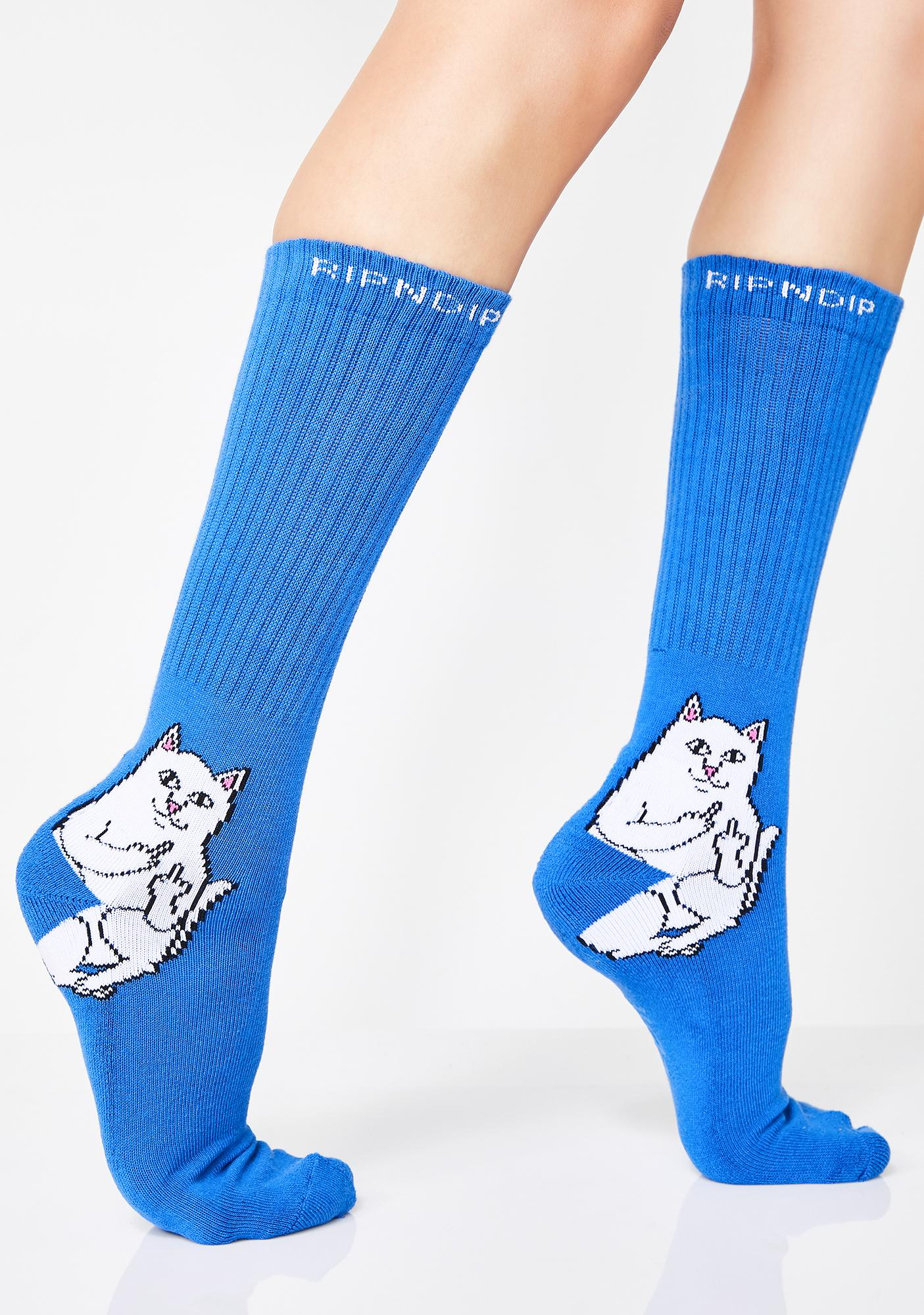 RIPNDIP Royal Lord Nermal Socks