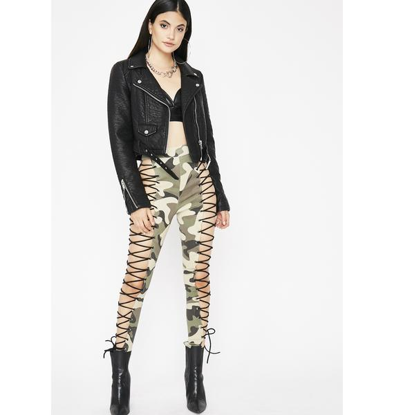 You're A Survivor Camo Leggings