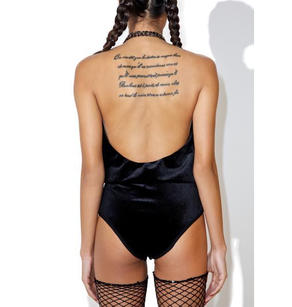 Speechless Halter Bodysuit