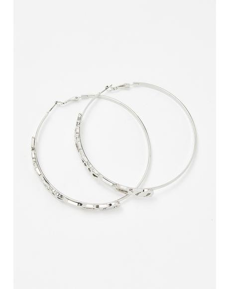 Aquariyas Hoop Earrings