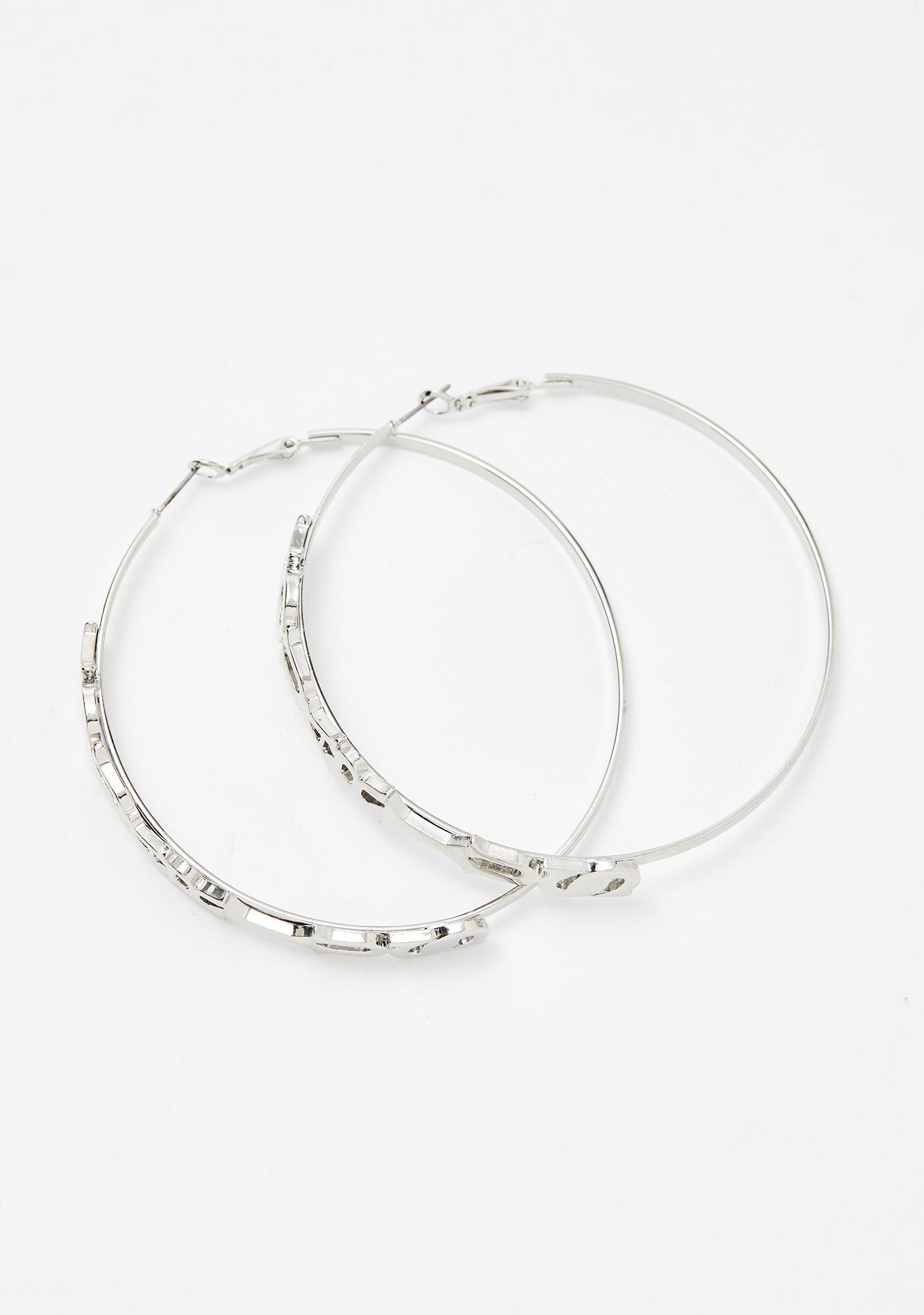 Aquariyas Hoop Earrings