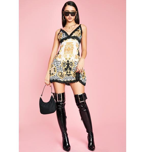 Sugar Thrillz Haute Lust Slip Dress
