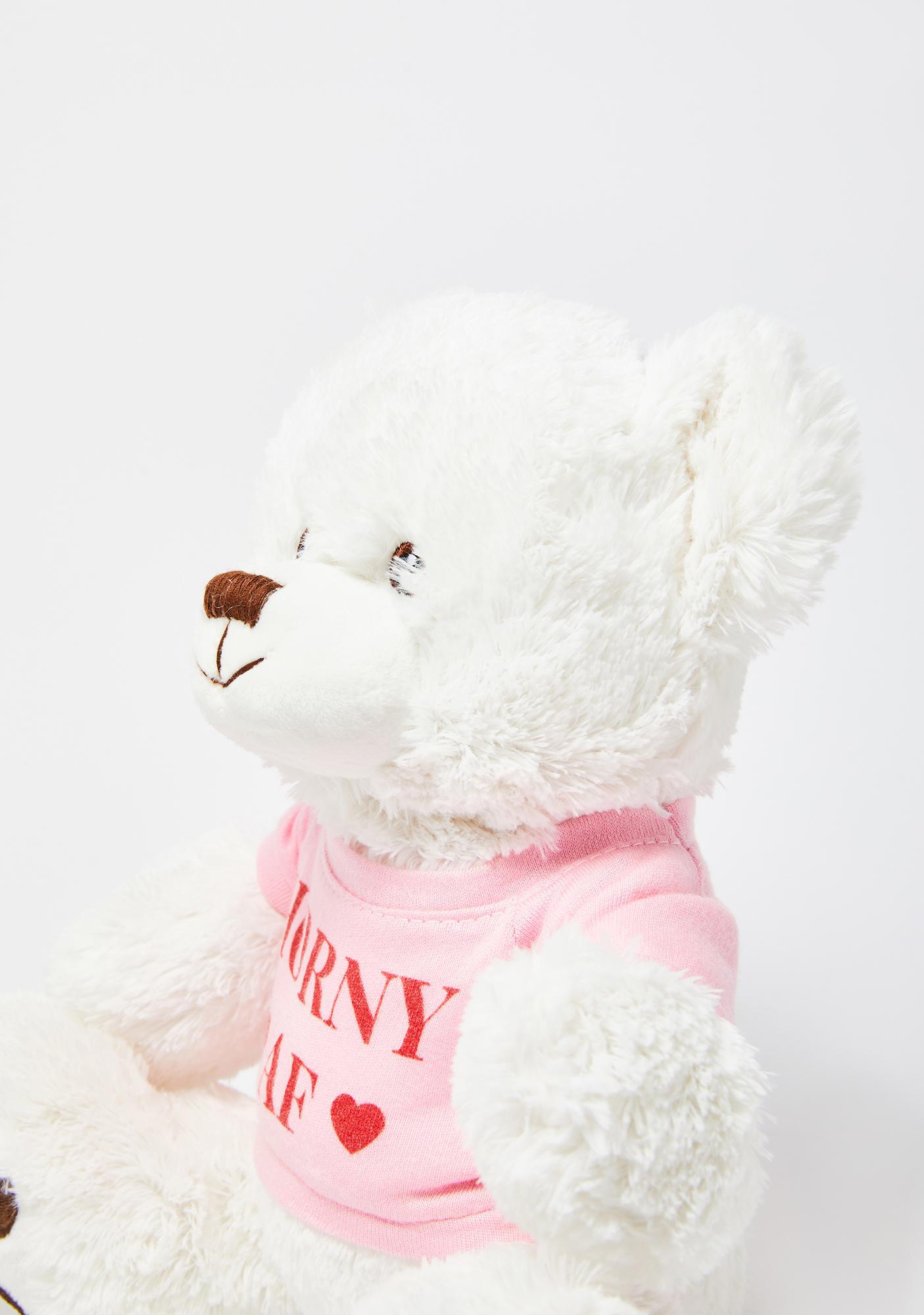 Femfetti Horny AF Bear Stuffed Toy