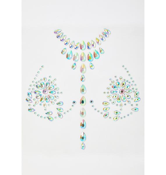 Icy Opulent Odyssey Body Jewels