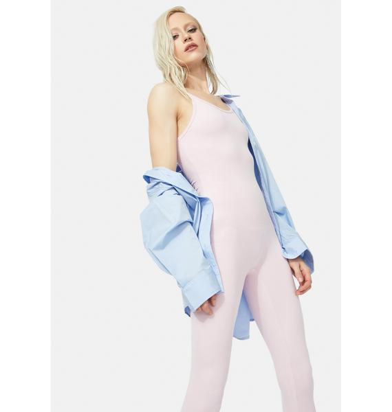 Lavender Nothing To Hide Catsuit