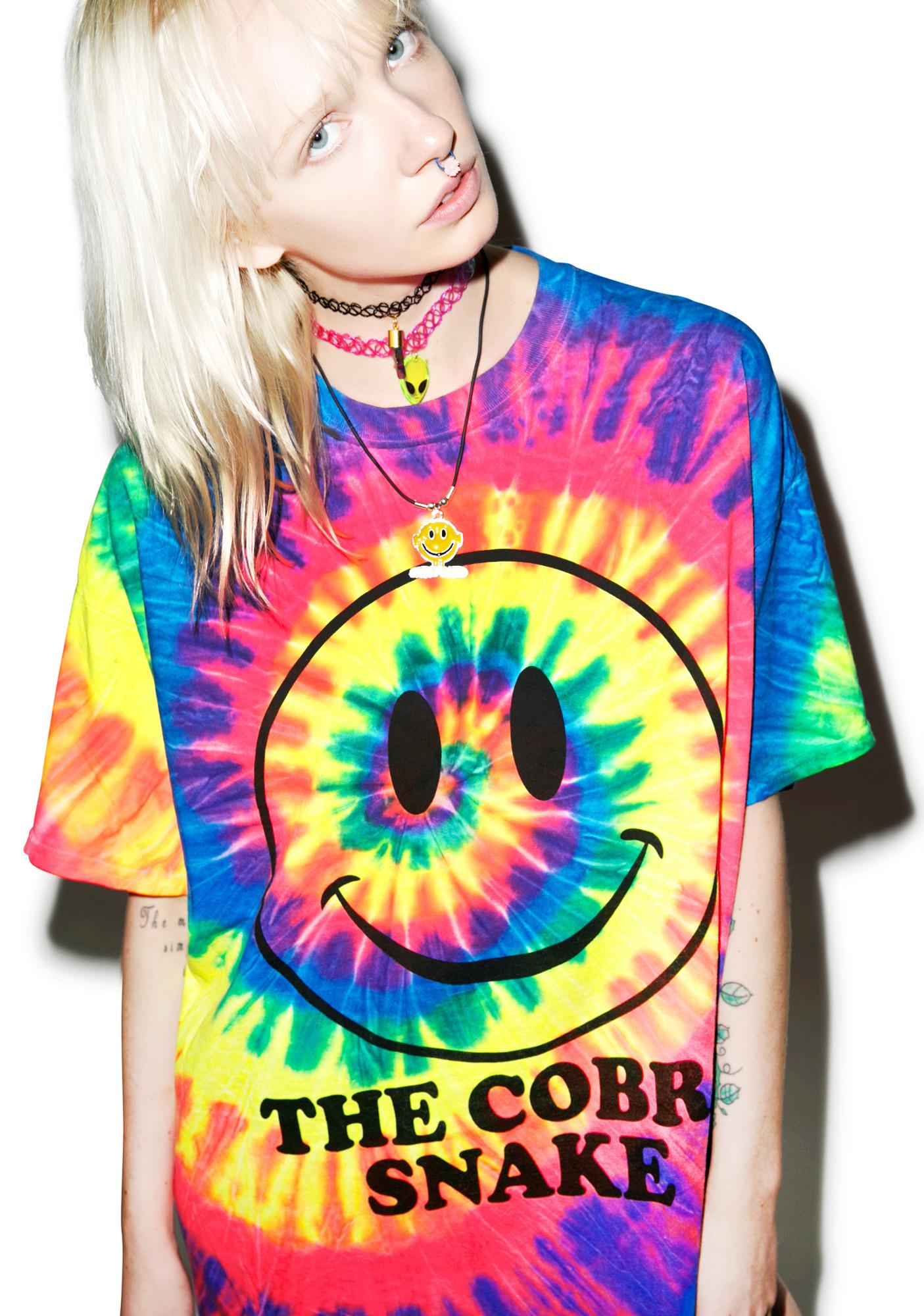 The Cobra Snake Happy On Ecstasy Tee