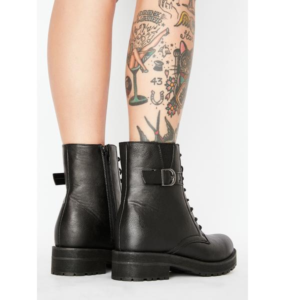 Poison Vesper Buckle Boots