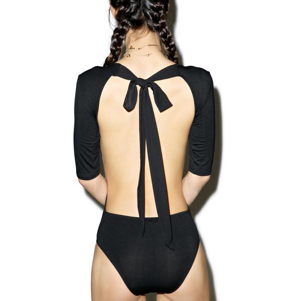 Black Tie Bodysuit