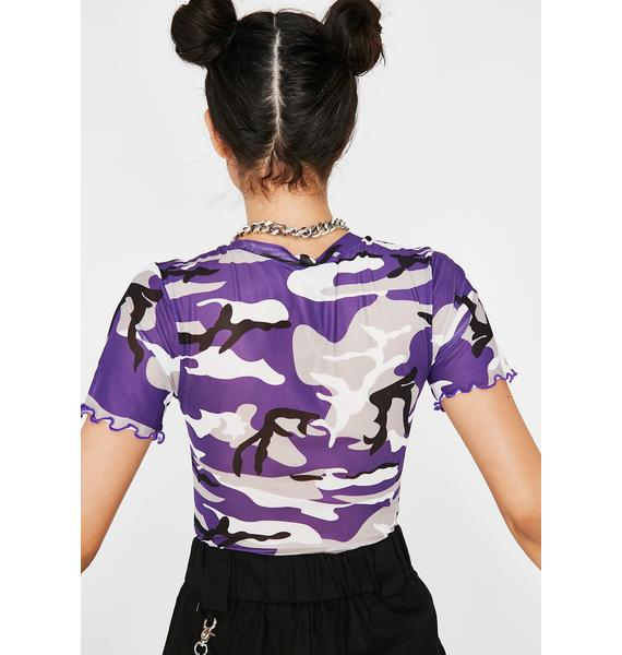 On Command Camo Top
