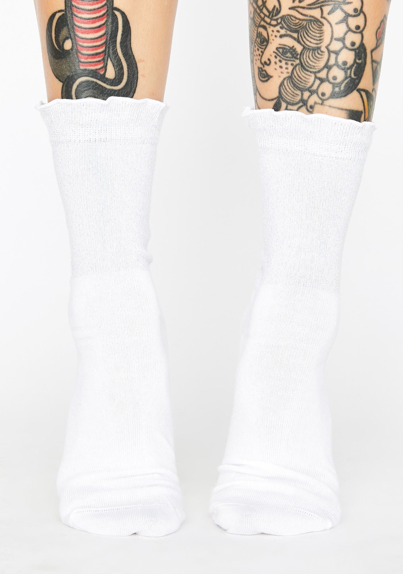 Dr. Martens Silver Iridescent Socks