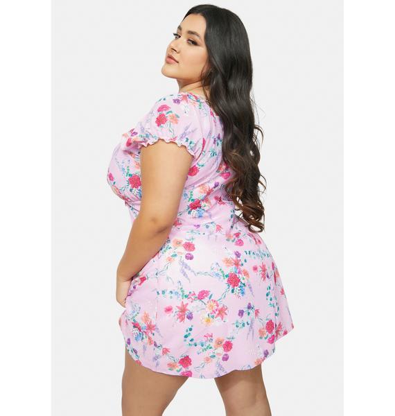 Sugar Thrillz Sweet Ultimate Tryst Of Fate Mini Dress