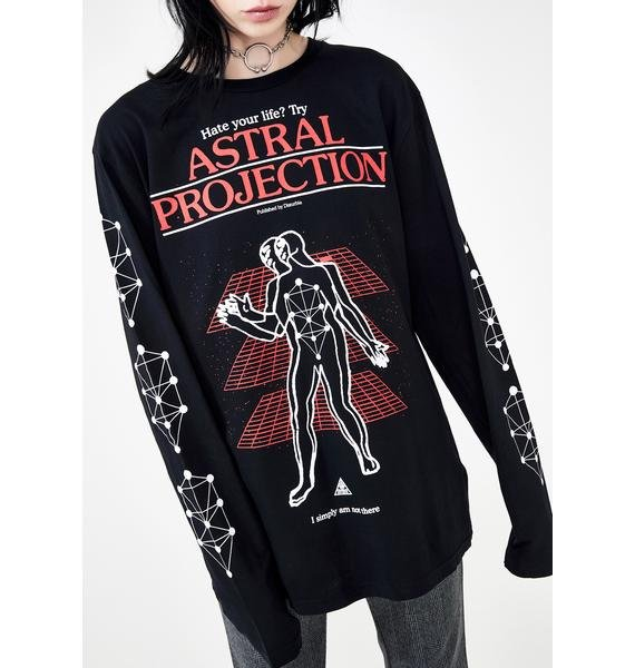 Disturbia Astral Projection Graphic Tee