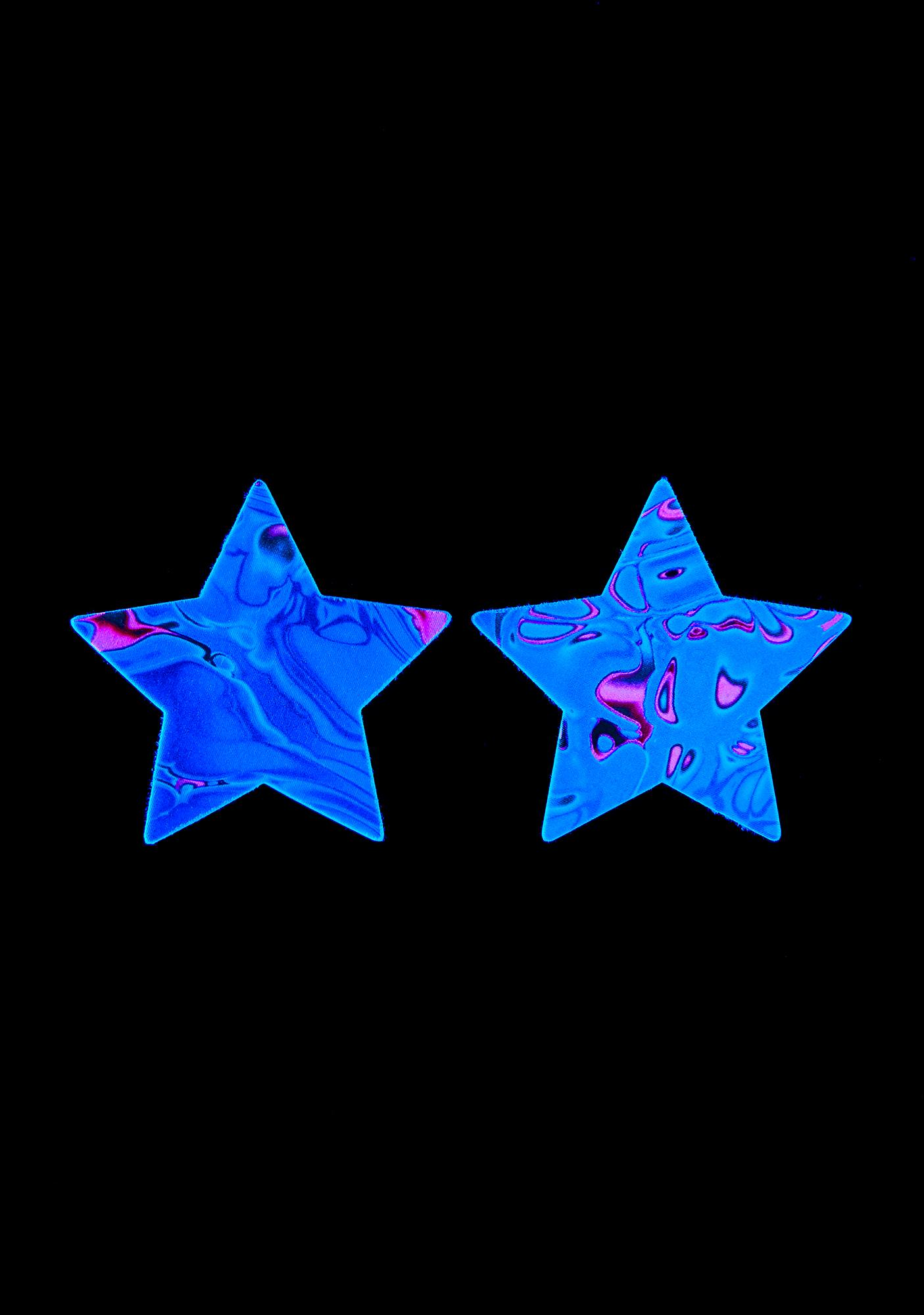 Neva Nude Starry Nights UV Reactive Pasties