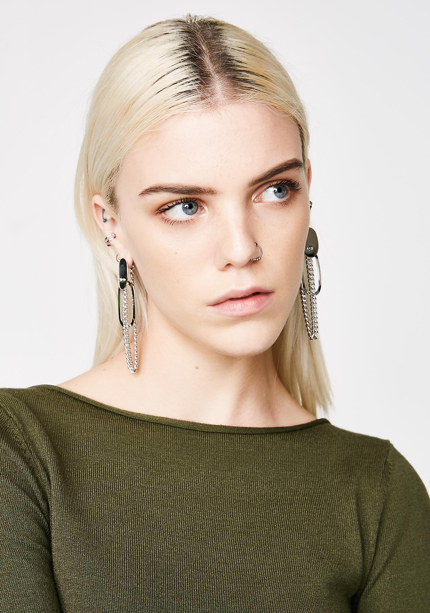 Keep It On Lock Earrings