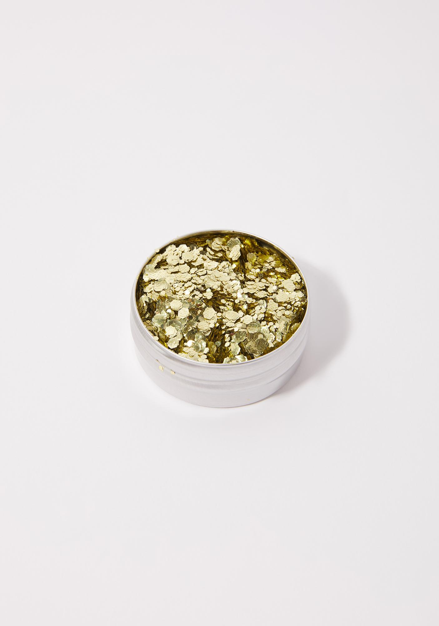 A Beautiful Weirdo Boogie Nights Gold Eco Glitter