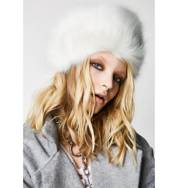 Angelic Cold Front Fuzzy Hat
