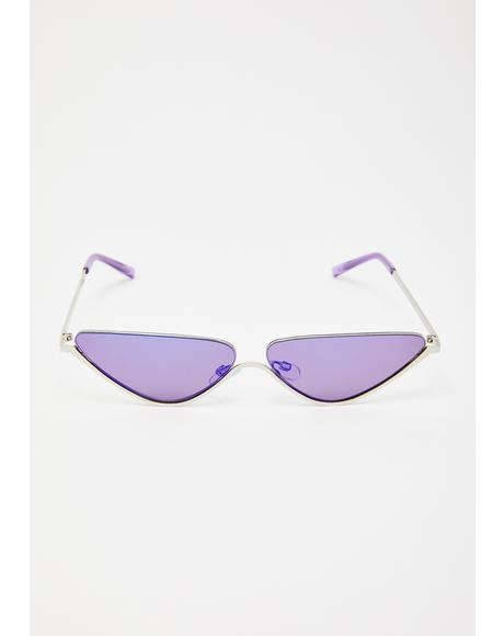 Major Intrigue Cat Eye Sunglasses