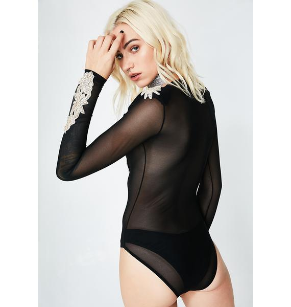 Kiki Riki Night Goddess Sheer Bodysuit