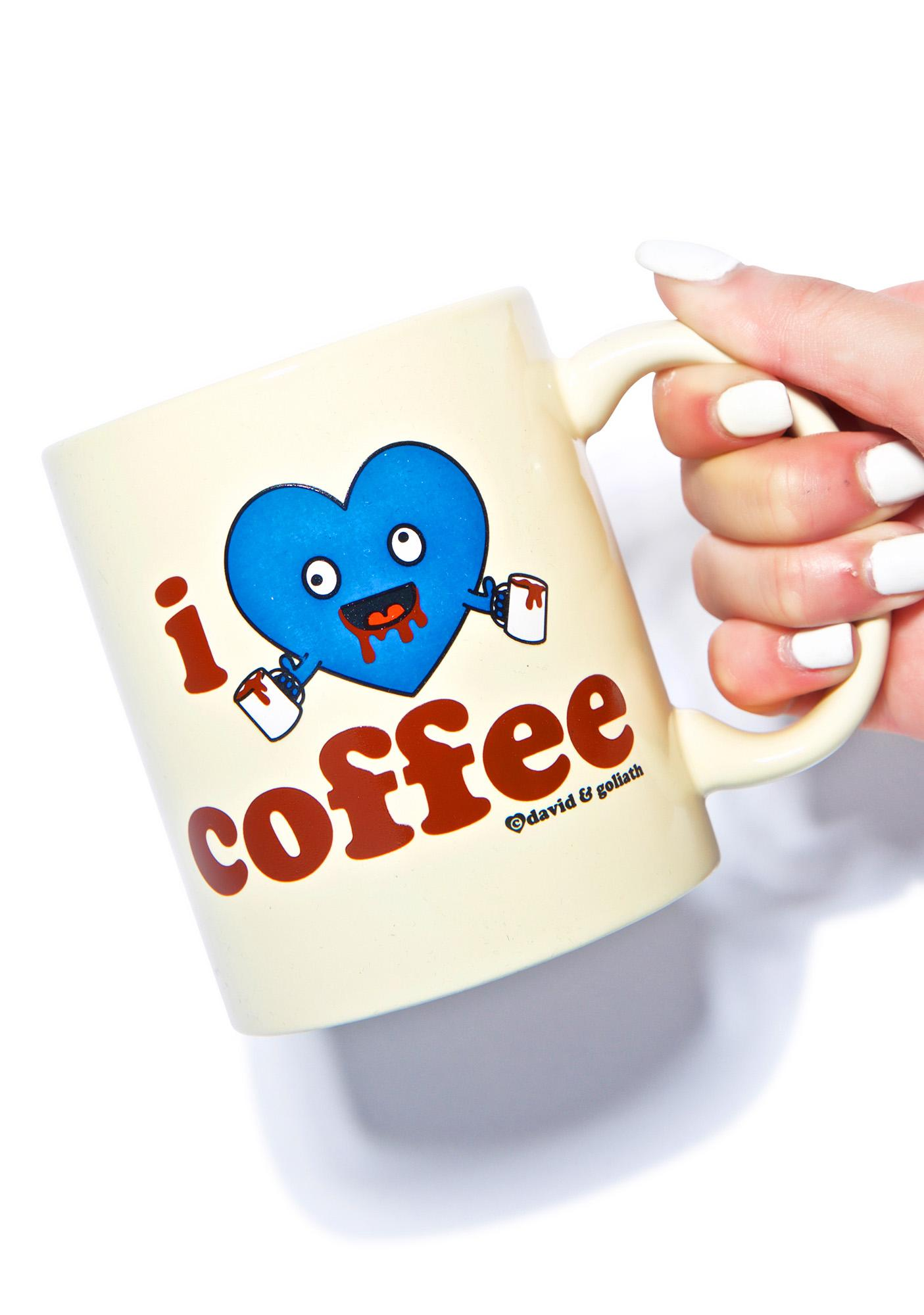 I Heart Coffee Mug