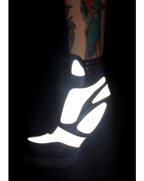 Super Fly Reflective Booties