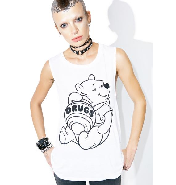 Burger And Friends Bear Necessities Muscle Tank