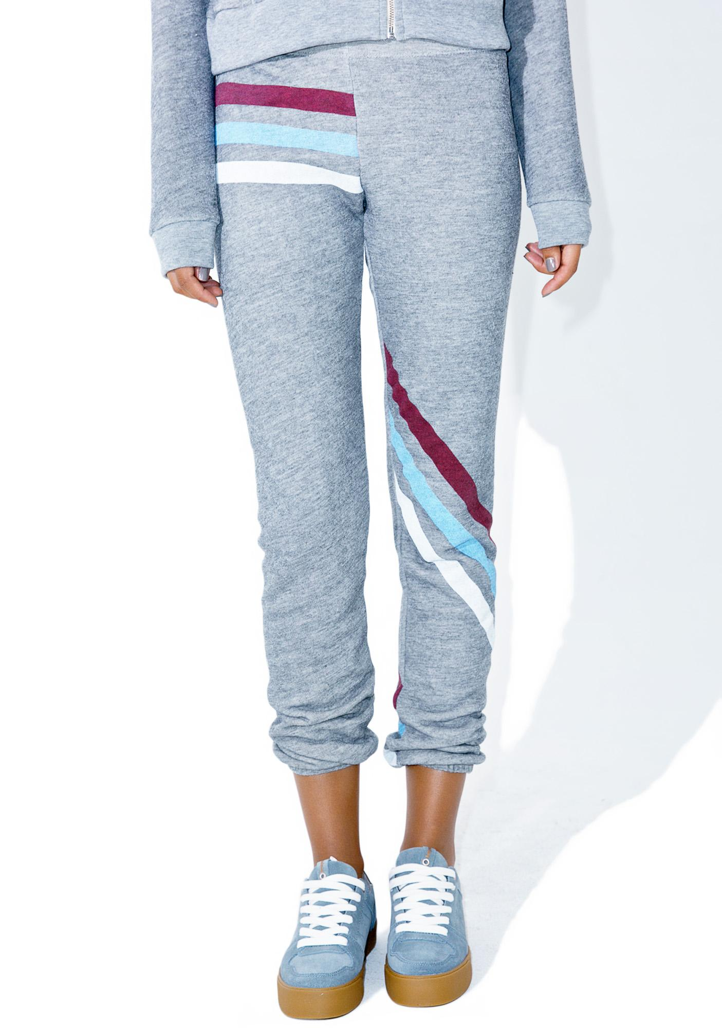 Wildfox Couture Tri Stripe Knox Pants