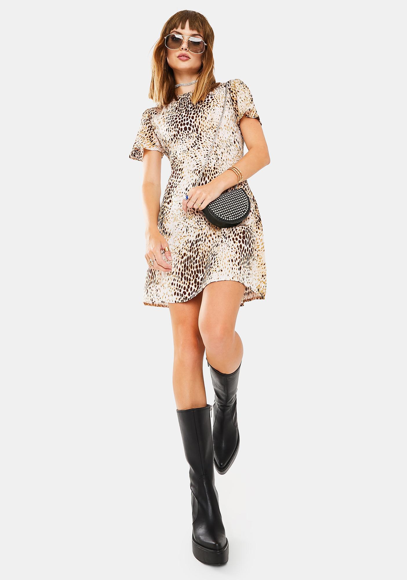 Motel Tina Mini Dress